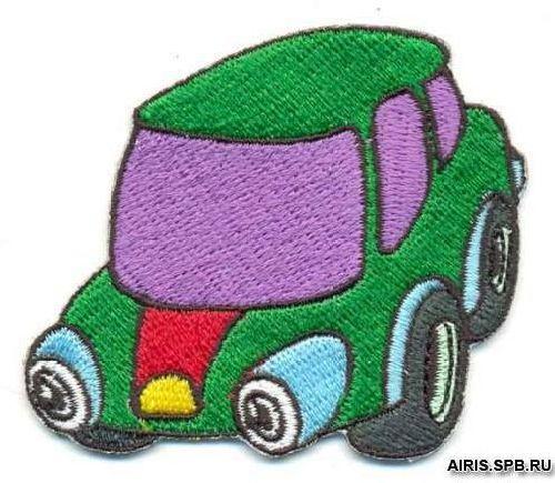 AD1160 Термоаппликация 'Машина', 5*6 см, Hobby&Pro