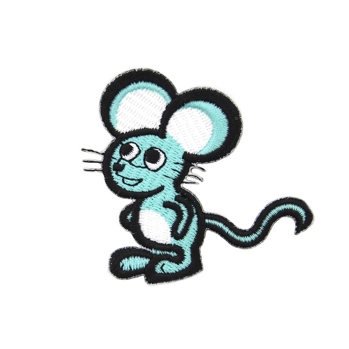 AD1162 Термоаппликация 'Мышь', 6*6 см, Hobby&Pro