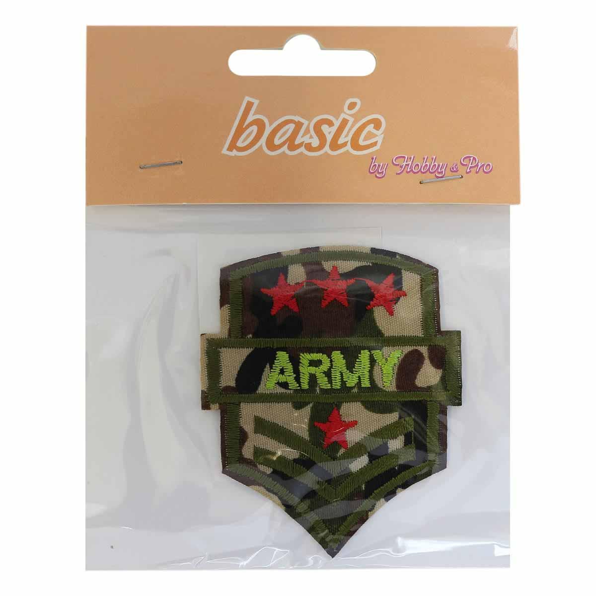 "Термоаппликация LM-80288 ""Army"" 1 шт., Hobby&Pro"