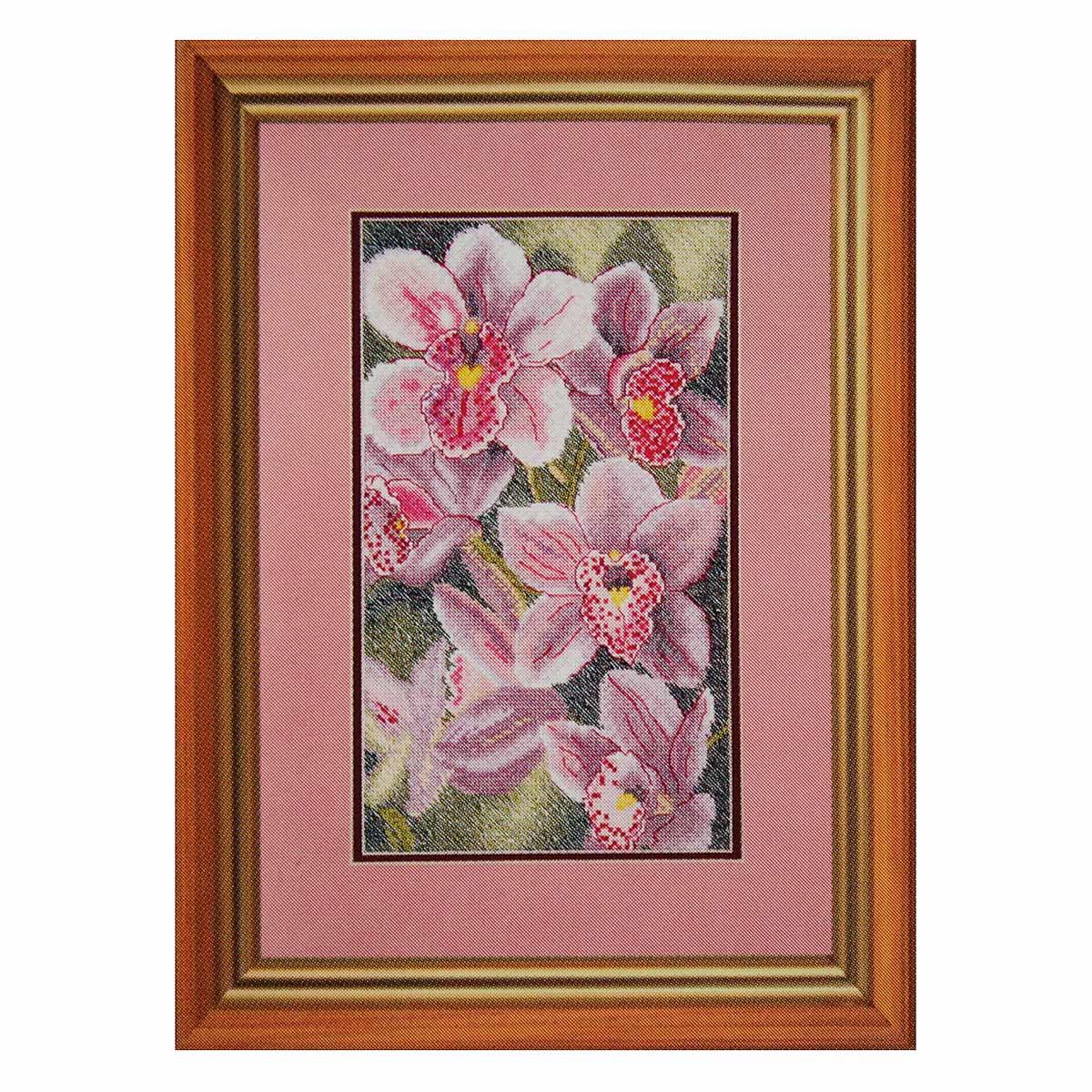 """Набор для вышивания 781 """"Любимые орхидеи"""", 16х27 см, Hobby&Pro"""
