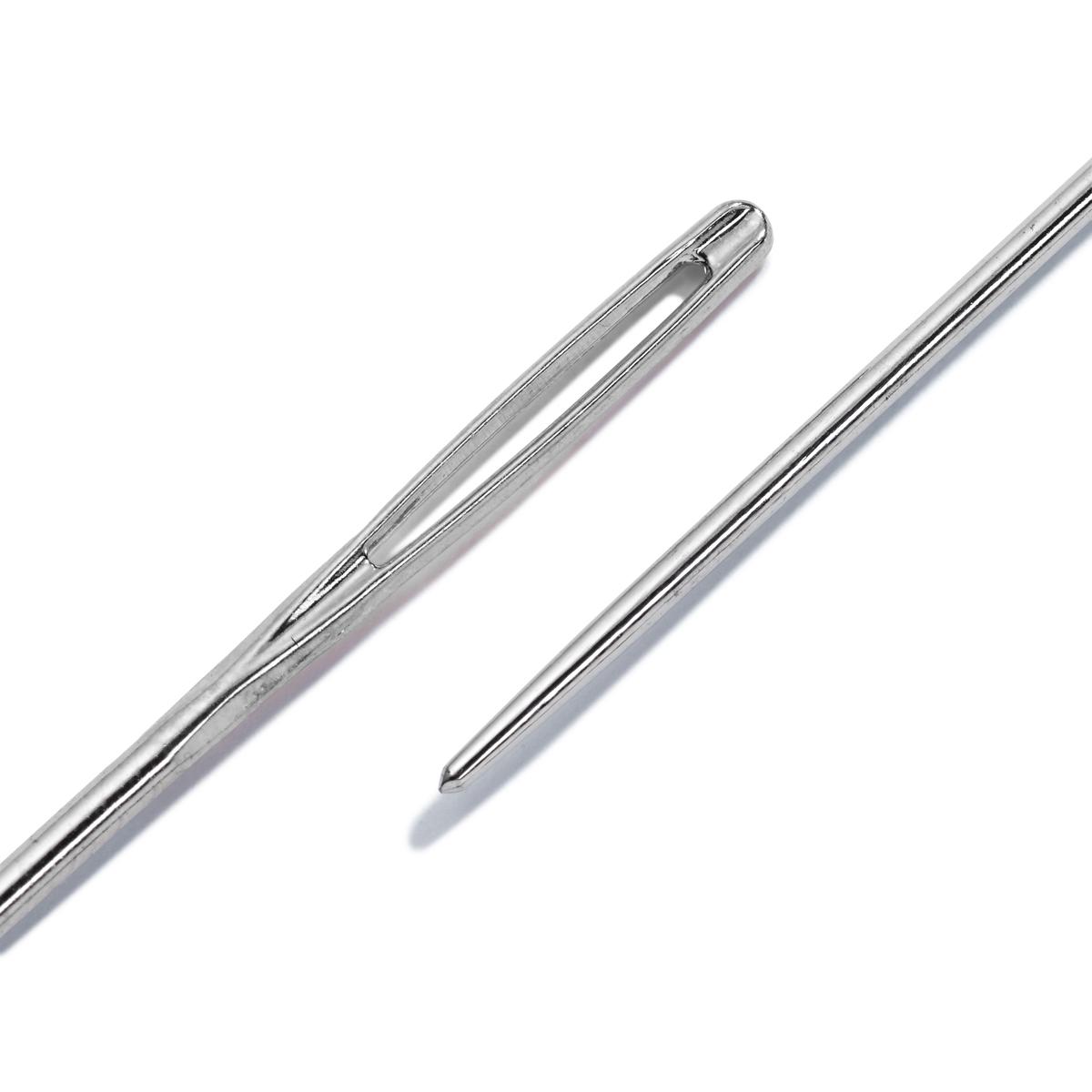 Набор 125558 Иглы для вышивания со скругленным острием №24 (сталь), 0,80*37мм, 3 упак, Prym