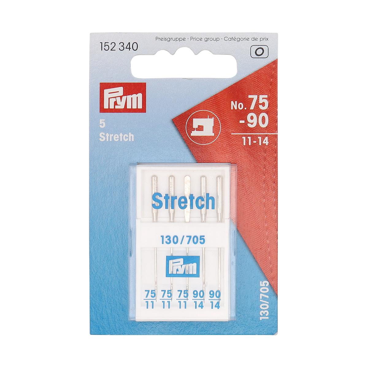 152340 Иглы для швейных машин стрейч №75-90 Prym