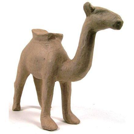 Фигурка из папье-маше, объемная, мал, верблюд, 9*21*22 см