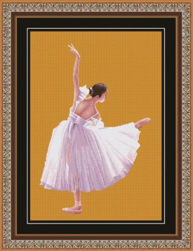 """Набор для вышивания крестом S-037 """"Искусство танца"""", 33х51 см, Hobby&Pro"""