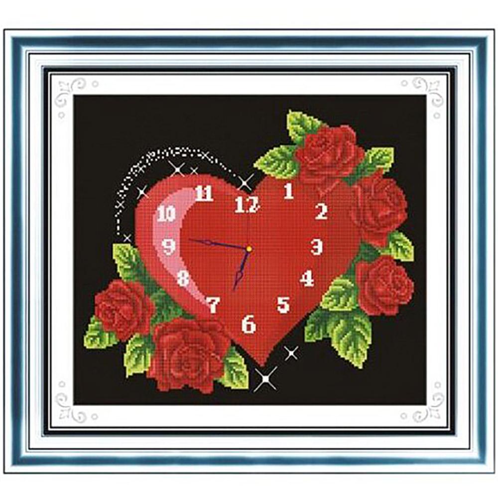"""Набор для вышивания крестом S-040 """"Вечная любовь"""", 27х23 см, Hobby&Pro"""
