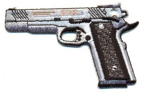AD1183 Термоаппликация 'Пистолет', 5*8 см, Hobby&Pro