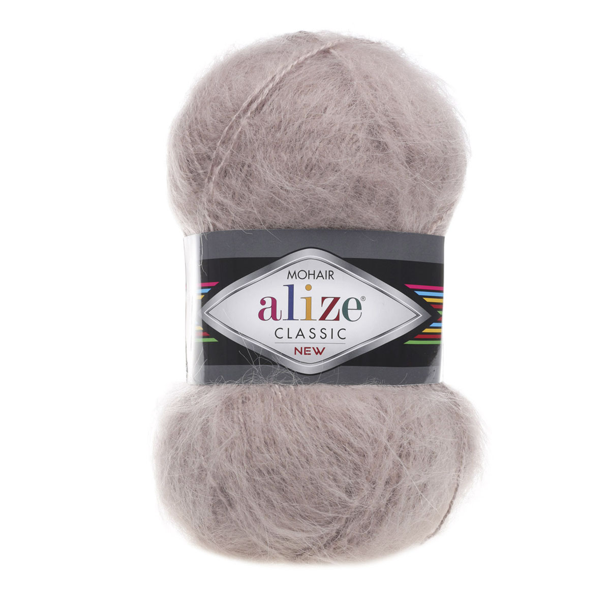 """Пряжа  ALIZE """"Mohair classik new"""" 200м./100г. бирюзовый мохер 25%; шерсть 24%; акрил 51%"""