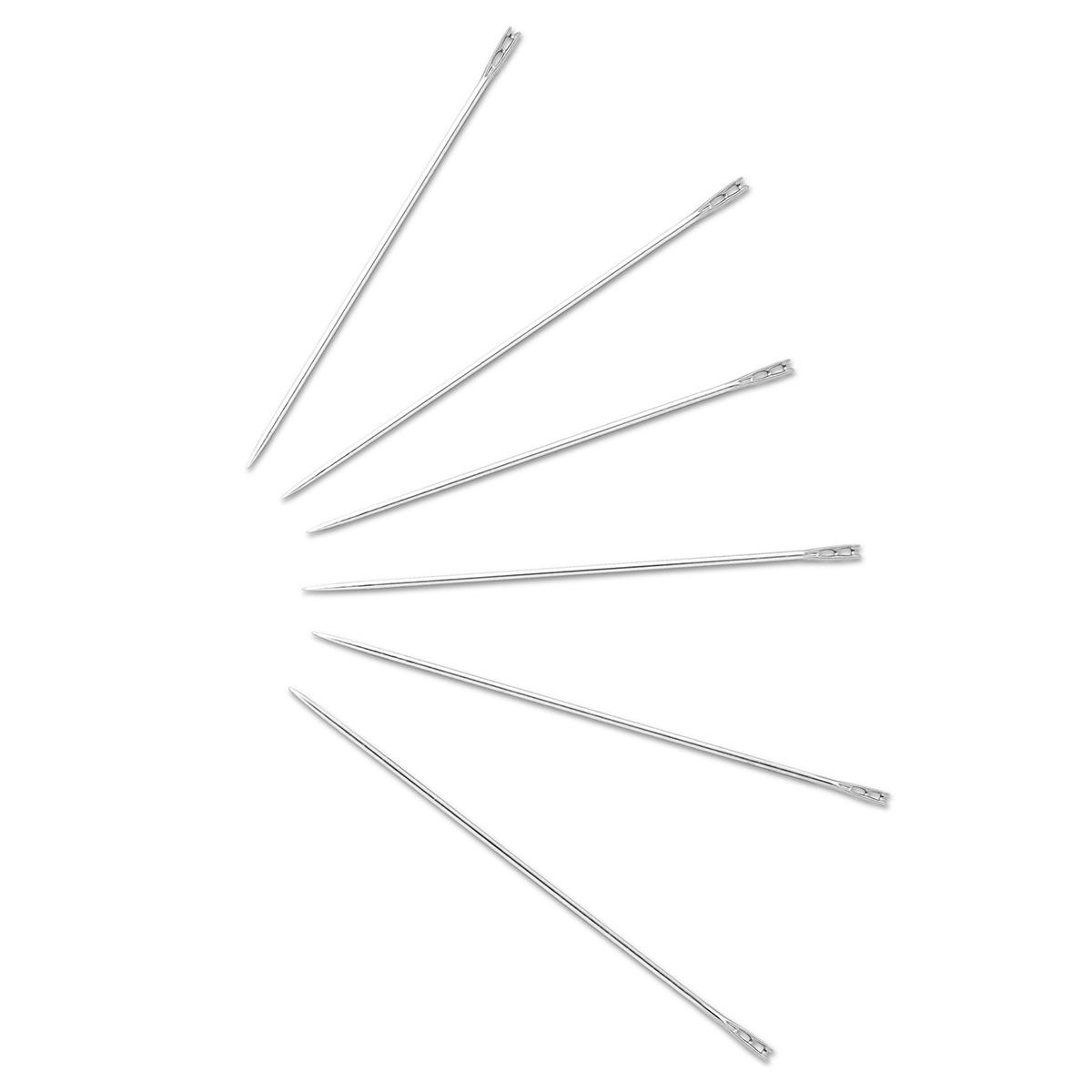 Набор 124429 Иглы для слабовидящих №5-9 (сталь), 2 упак, Prym