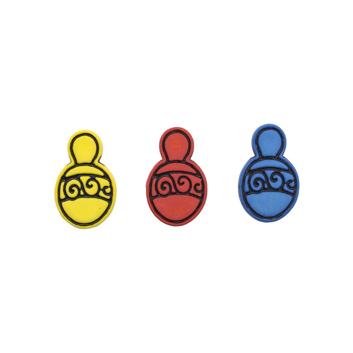 I1531-DW2 Декоративный элемент 'Погремушка', упак./6 шт. Magic Buttons