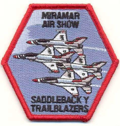 AD1188 Термоаппликация Air show, 8*7,5 см, Hobby&Pro