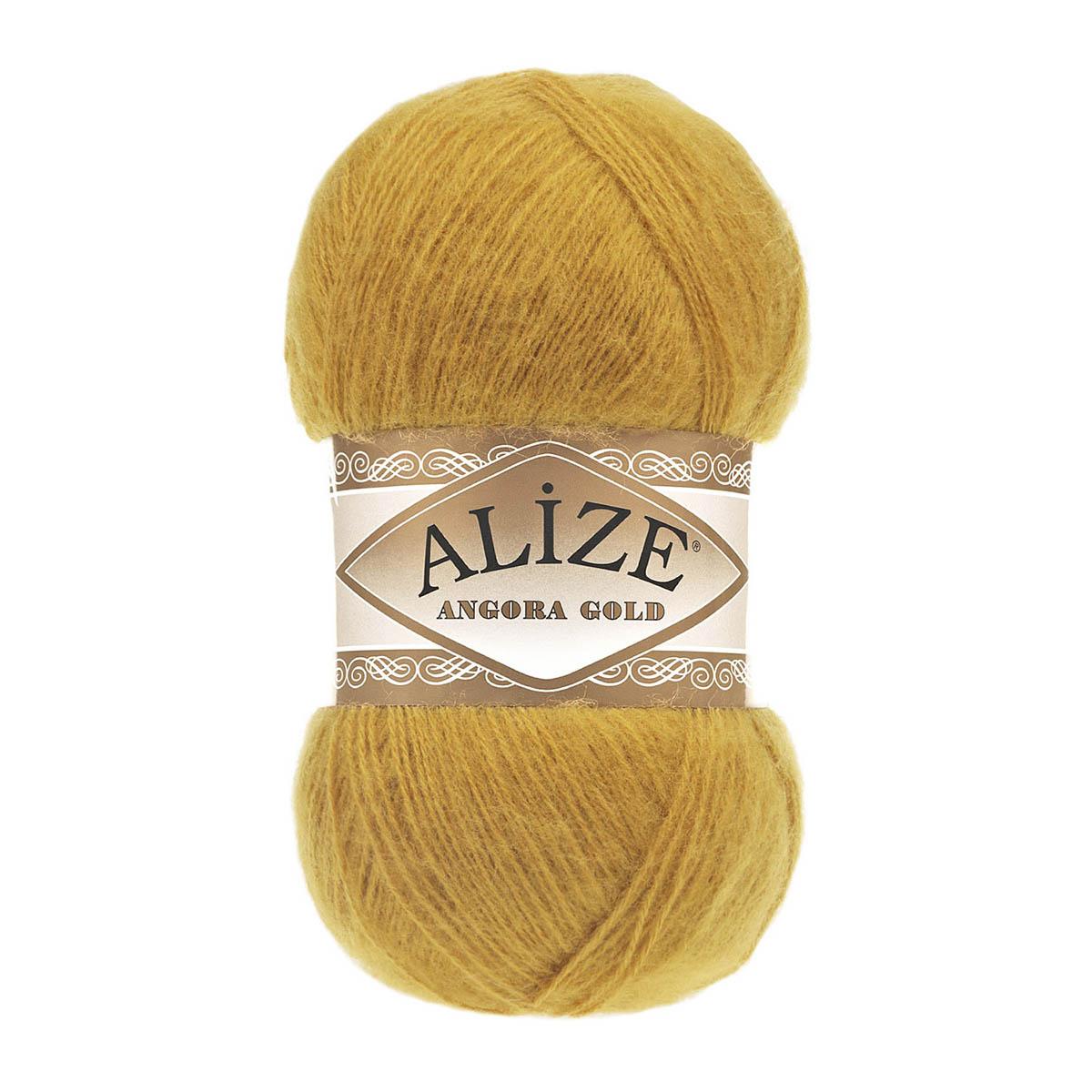Пряжа  ALIZE Angora Gold 550м./100г. Акрил 80%; шерсть 10%; мохер 10%