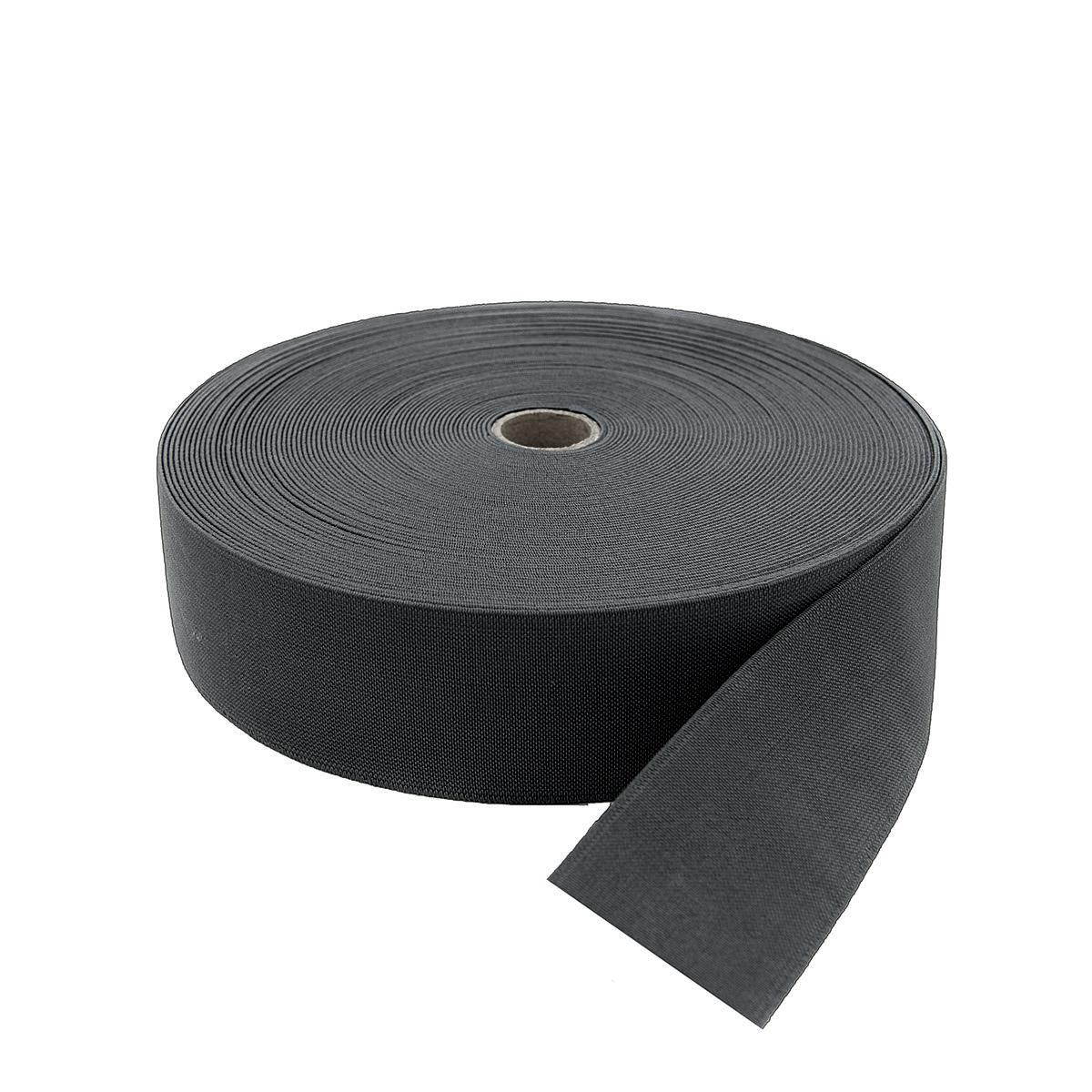 15-3849/1748 Резинка вязаная 50мм*25м т.серый ГР