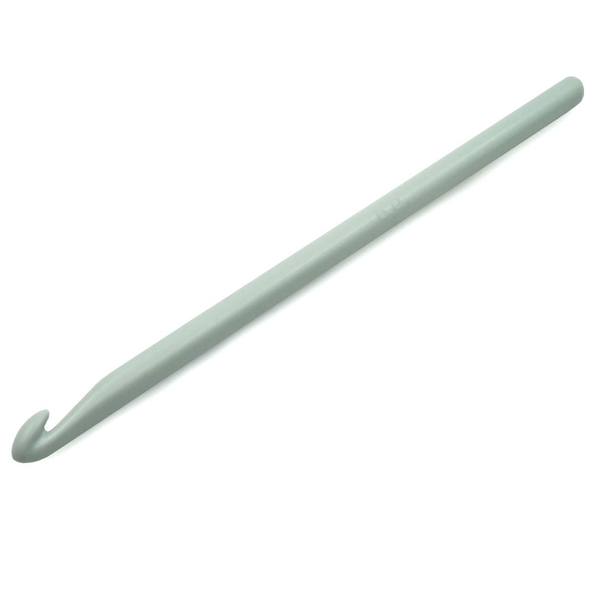 218499 Крючок для вязания, пластик, 6 мм*14 см, Prym