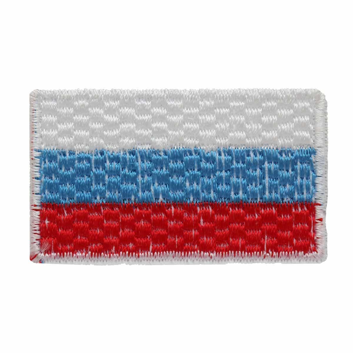 "Термоаппликация LM-80375 ""Флаг России"" 1 шт., Hobby&Pro"