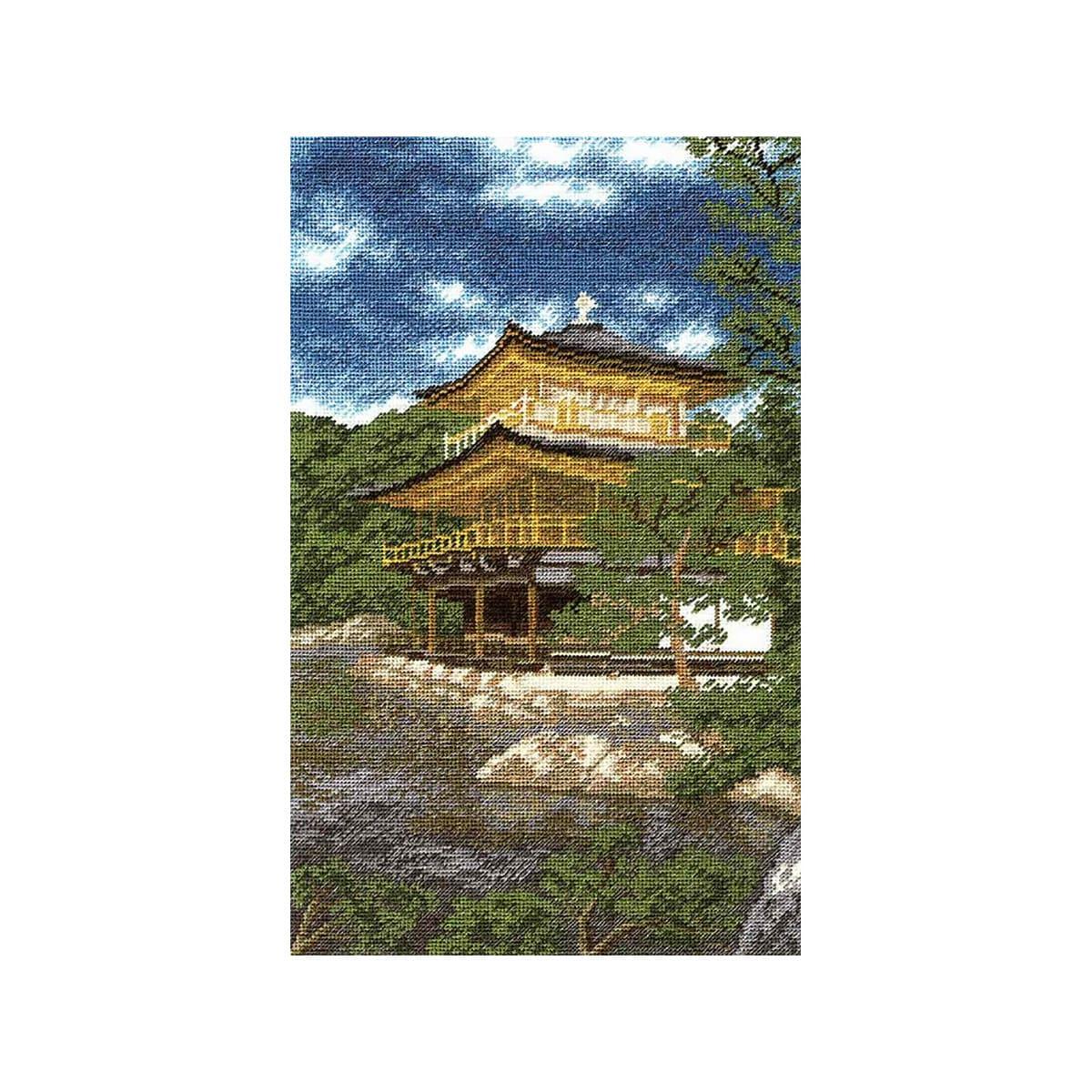 Набор для вышивания'Золотой павильон', 29*18 см, 681, Hobby&Pro