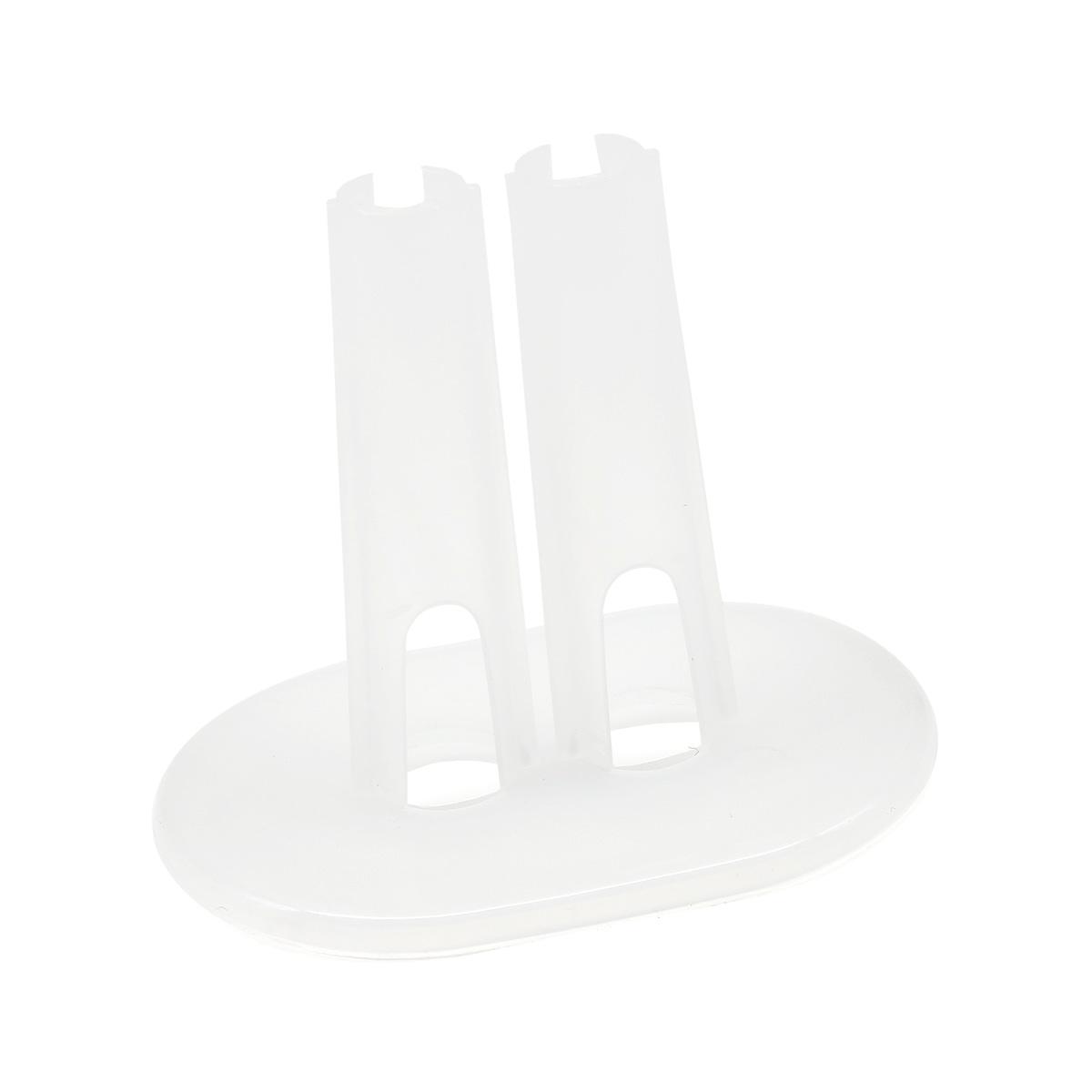 28520 Подставка для кукол прозрачная 8см*5см*7см, пластик, 1шт.