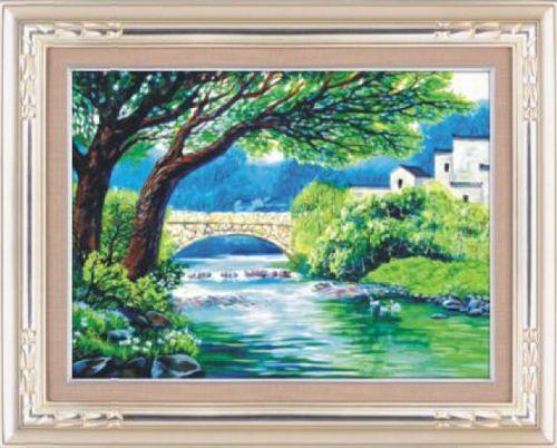 1043 Мозаика, Cristal 'Белый мост', 68*50 см