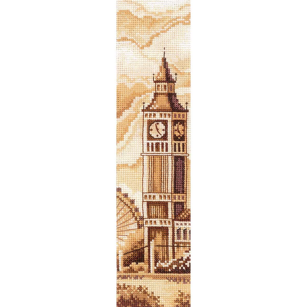 З-53 Набор для вышивания 'Закладки. Лондон' 5,5 х 22см