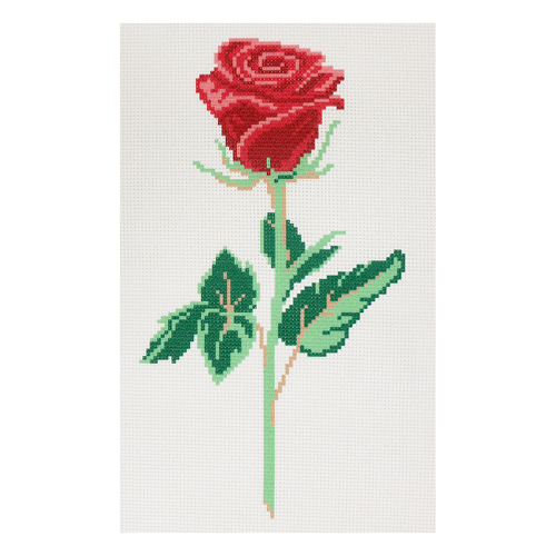 "Наборы для вышивания нитками с паспарту ""Роза"" 22*38см, 10/НП, Hobby&Pro"