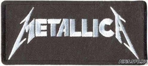 AD1220 Термоаппликация Metallica, 4,5*10 см, Hobby&Pro