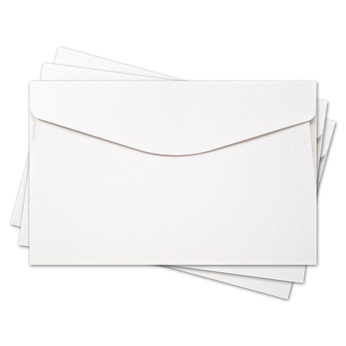 ОКО2201 Конверт для открытки 11х17 см КОМПЛ. 3шт Цвет: белый Фактура 'Скорлупа'