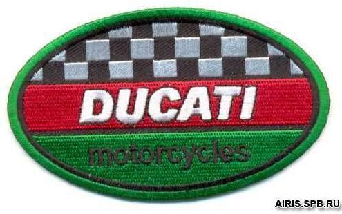 Термоаппликация AD1223 Ducati Motorcycles, 6*10 см, Hobby&Pro