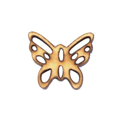 BUTT14001 Пуговица 'Бабочка' деревянная