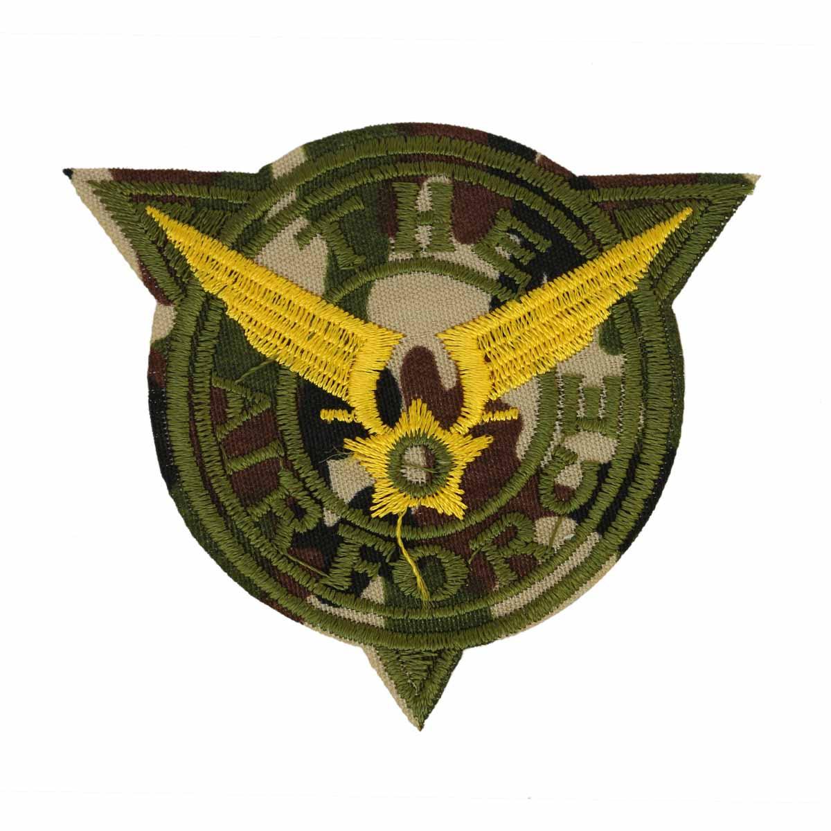 "Термоаппликация LML067 ""Airforce"" 1 шт., Hobby&Pro"