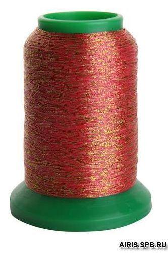 Нитки Isamet 40 fashion gold металлизированная нить (45% полиамид, 55% полиэстер)