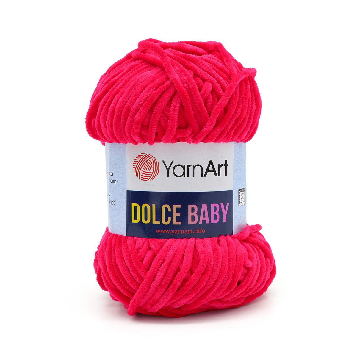 Пряжа YarnArt 'Dolce Baby' 50гр 85м (100% микрополиэстер)