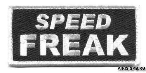 AD1229 Термоаппликация Speed Freak, 5*10 см, Hobby&Pro