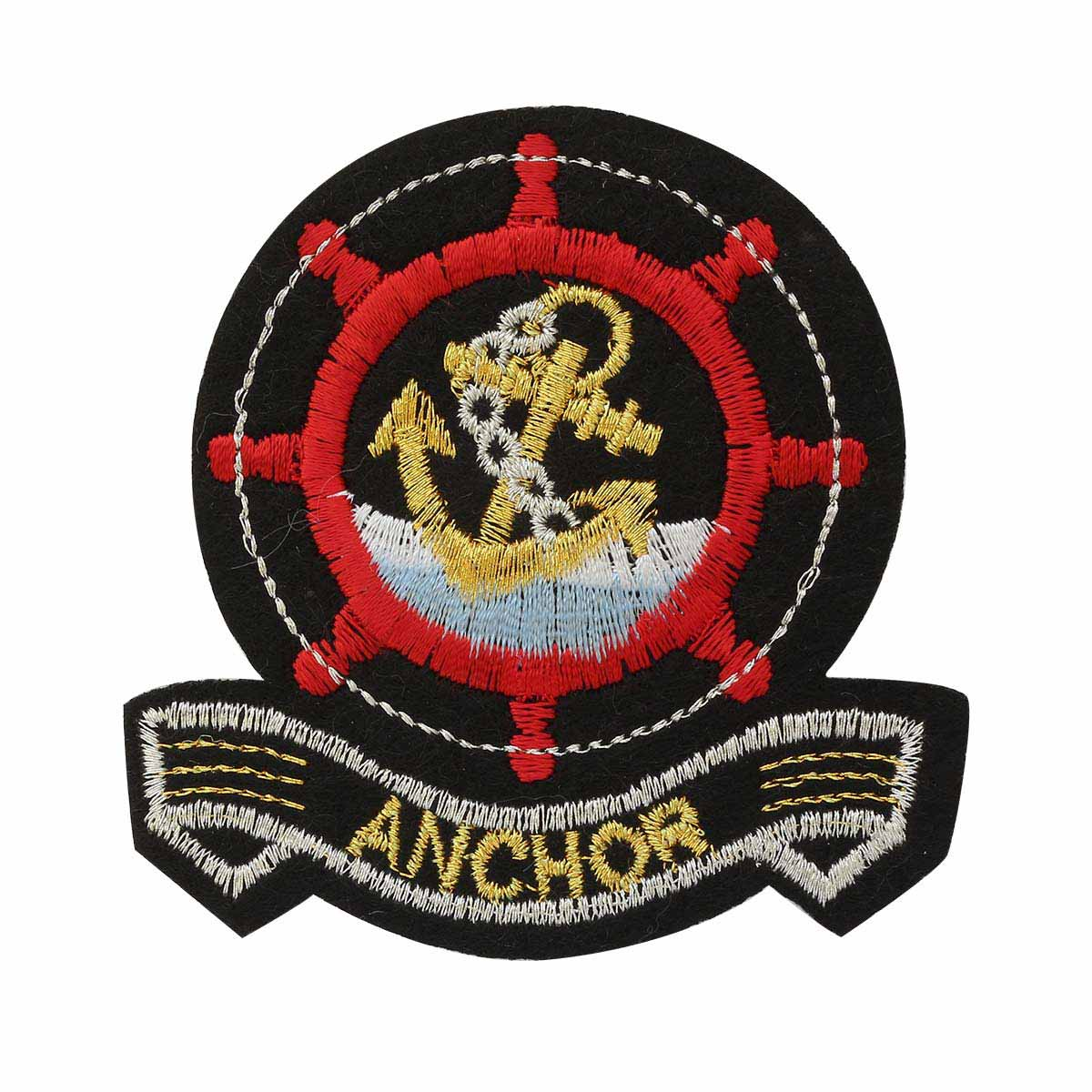 Термоаппликация LML212 'Anchor' 1шт Hobby&Pro basic