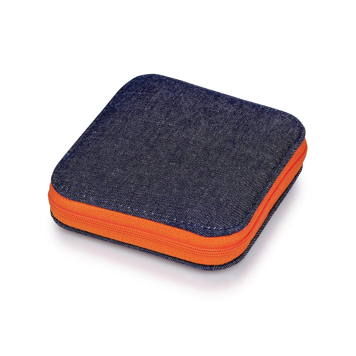 651244 Набор для шитья, Деним/оранжевая молния, Prym