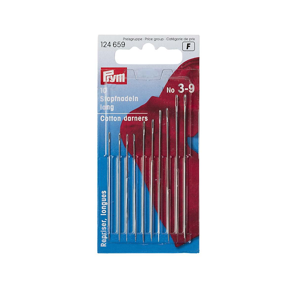 124659 Иглы для штопки длинные №3-9 Prym