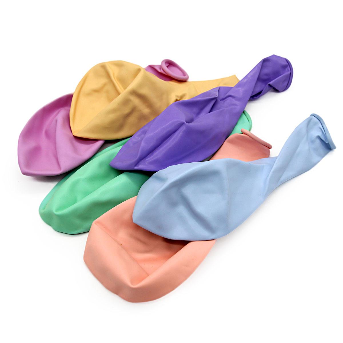 AR708 Воздушный шар, ассорти пастель, 12шт/упак