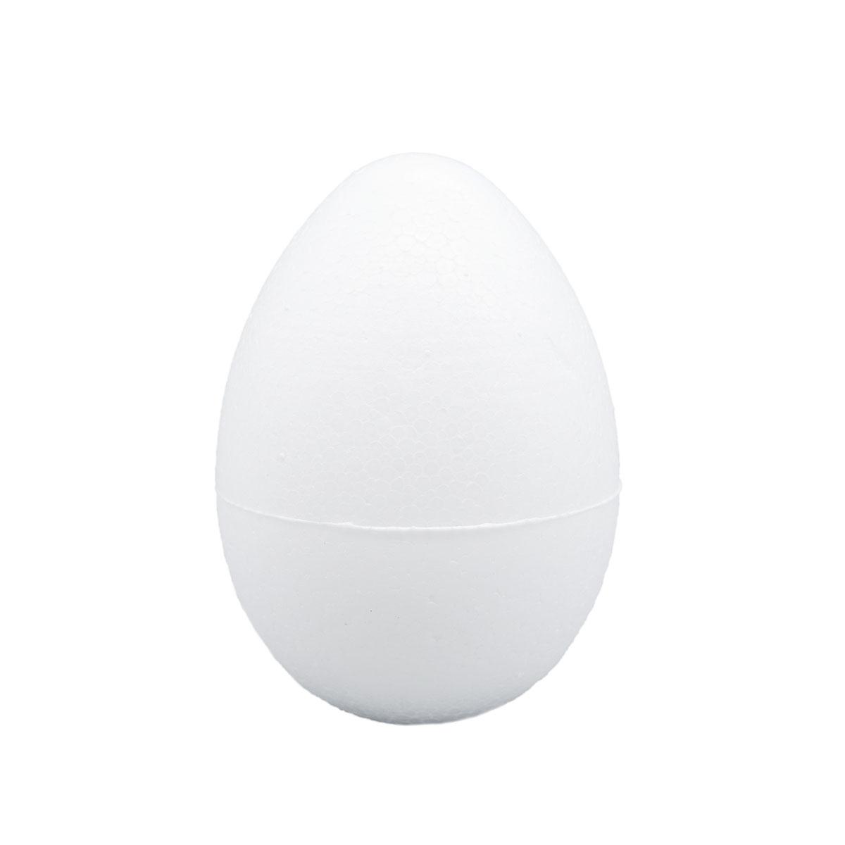 """Заготовка для декорирования из пенопласта """"Яйцо"""" h 80хd 55мм."""
