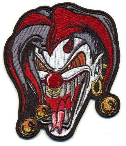AD1254 Термоаппликация 'Злой клоун', 10*8 см, Hobby&Pro