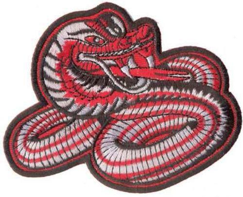 AD1262 Термоаппликация 'Змей', 8*10 см, Hobby&Pro