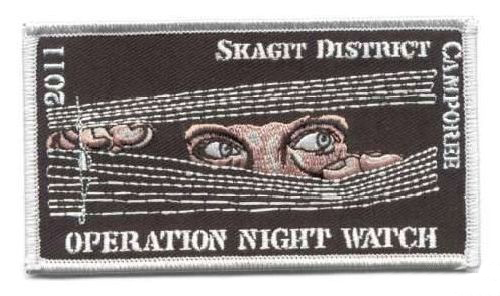 AD1263 Термоаппликация Operation night watch (ночная слежка), 6,5*11 см, Hobby&Pro