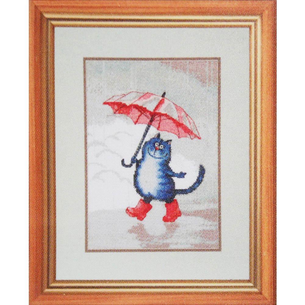 """Набор для вышивания 784 """"Кот в сапогах"""", 20х28 см, Hobby&Pro"""