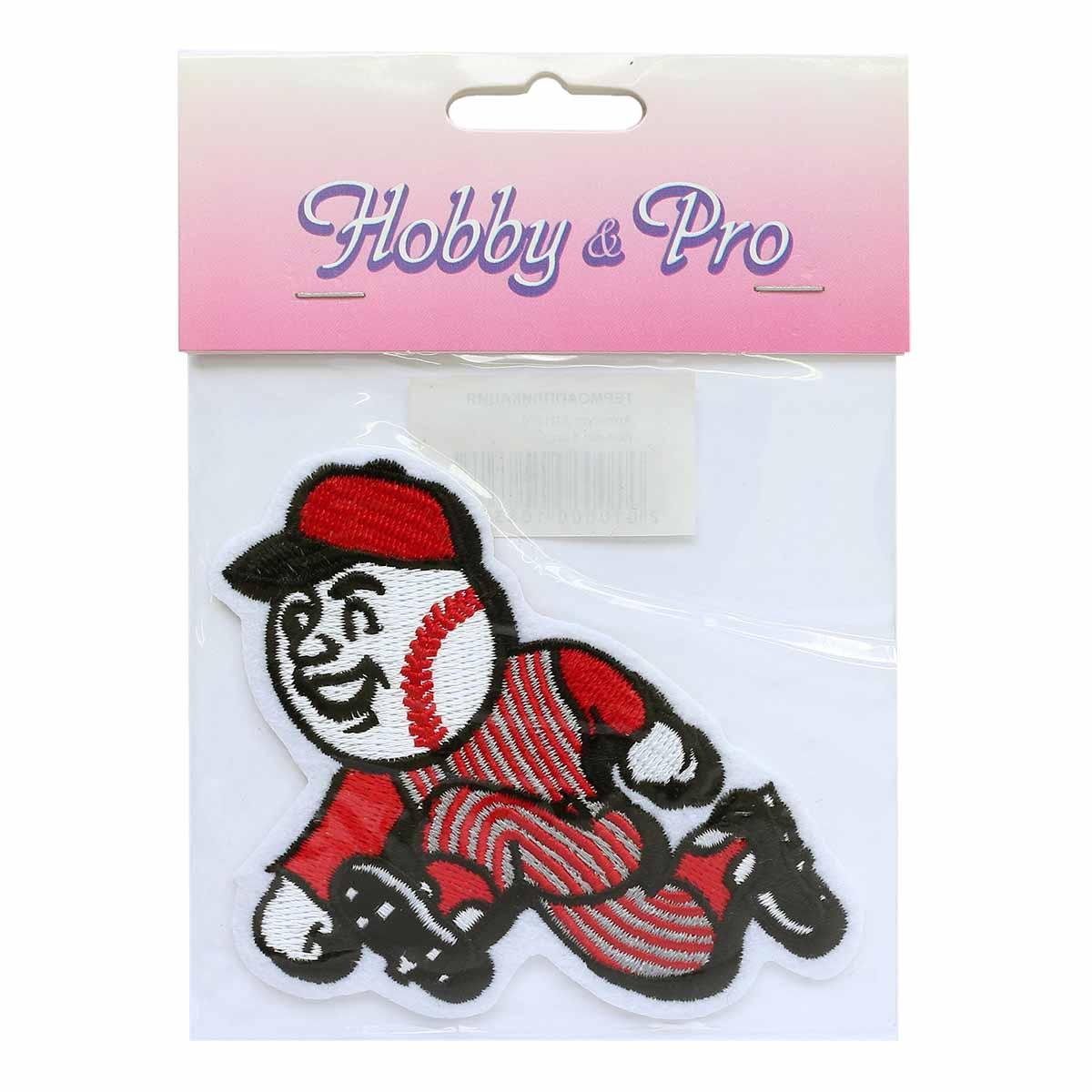 Термоаппликация AD1270 Бейсбол, Hobby&Pro