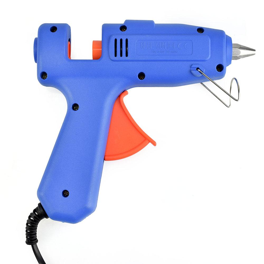 Клеевой пистолет большой с клеевыми стержнями в комплекте, Hobby&Pro