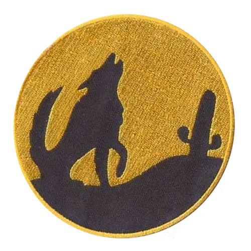AD1275 Термоаппликация 'Ночной волк', d 10 см, Hobby&Pro