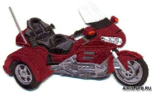 Термоаппликация AD1277 Мотоцикл Hobby&Pro