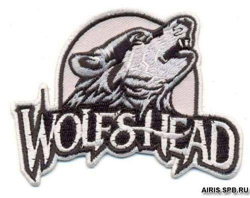 AD1292 Термоаппликация 'Волчья голова', 6*10 см, Hobby&Pro