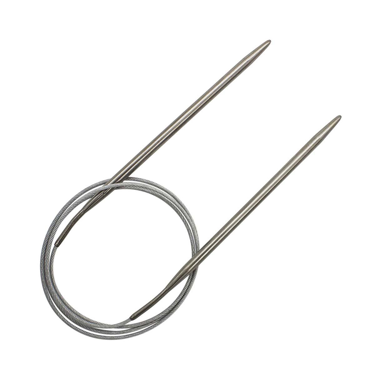 Спицы круговые металл 941150, 100 см, 5,0 мм, Hobby&Pro