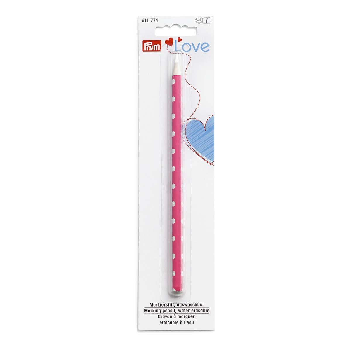 611774 Маркировочный карандаш Prym Love белый, Prym