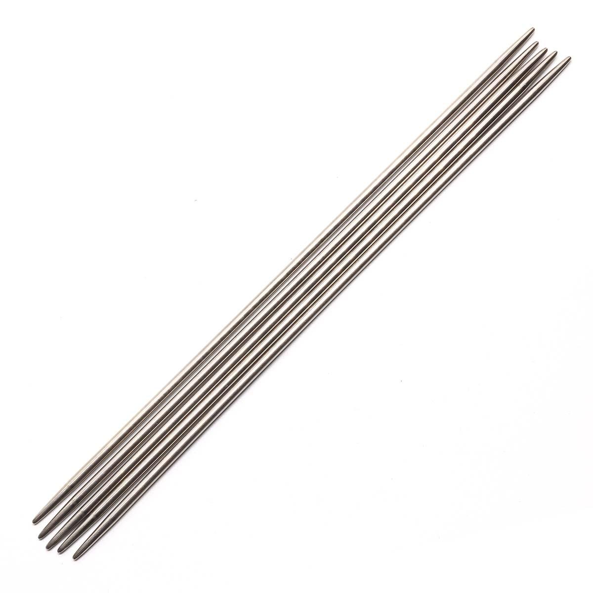 941530 Спицы носочные металл 20см, 3,0мм Hobby&Pro