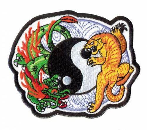Термоаппликация AD1317 Инь-Янь (Тигр-Дракон), Hobby&Pro