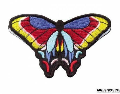 Термоаппликация AD1358 Бабочка Hobby&Pro